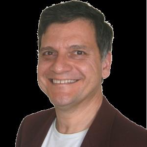 Retrato de Santiago Becerra, dinerólogoy experto en educación financiera